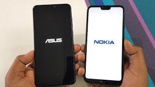 Asus Zenfone Max Pro M2 vs Nokia 6.1 Plus Speed Test | TechTag