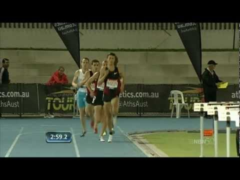 2012 Melbourne TC 1500m - Gregson, Torrence, Willis
