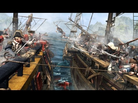 Assassin's Creed 4 Whaling and Ship Battles
