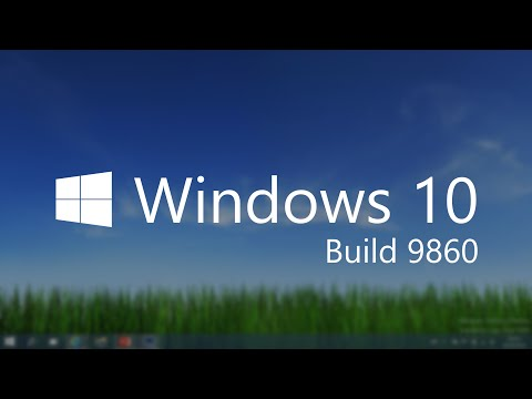 Windows 10 Build 9860 - Notification Center, Animations, PC Settings + MORE
