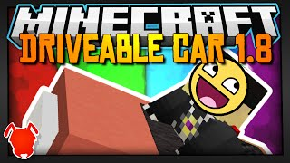 Minecraft | DRIVEABLE CAR! | One Command Block