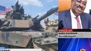US Military Base In Ghana - News Desk on Joy News (20-3-18)