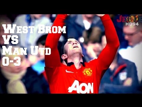 West Bromwich Albion VS Manchester United 0-3 (HD)