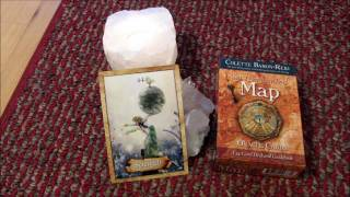 The Enchanted Map ~ Strength ~  My newest Oracle Cards by Colette Baron-Reid