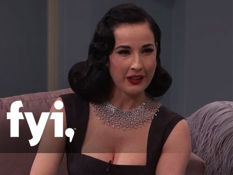 Dita von Teese on Working with Marilyn Manson | Kocktails with Khloe | FYI
