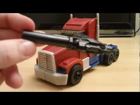 First Edition Voyager Optimus Prime (video revisão em portugues)