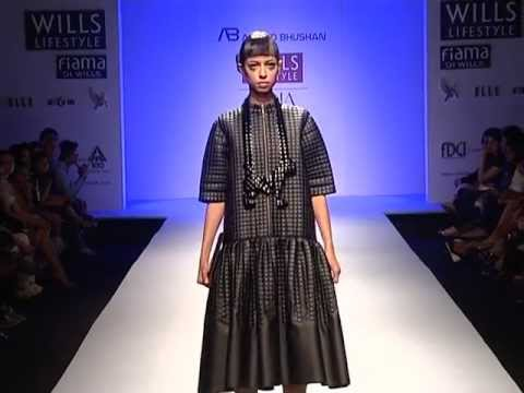 Anand Bhushan Fall Winter 2013 Wills Lifestyle India Fashion Week New Delhi