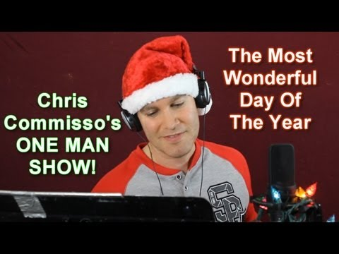 THE MOST WONDERFUL DAY OF THE YEAR - cover / reenactment (Glee/Rudolph the Red Nosed Reindeer)