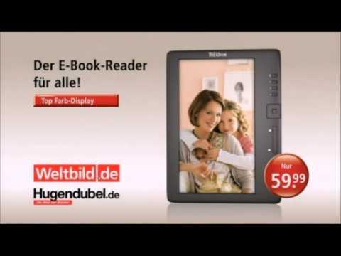 Weltbild.de/Hugendubel.de - E-Book-Reader - TV-Werbung 2012