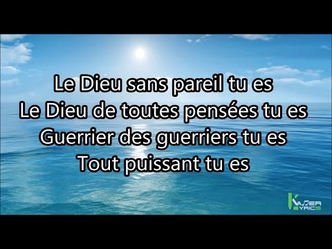 SAJES -  La Grandeur de Dieu [Paroles -Lyrics]
