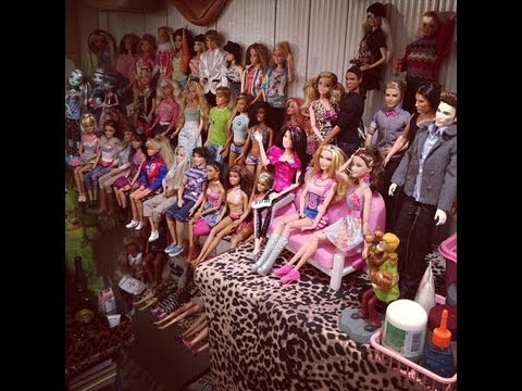 Minha Coleção de Barbies.