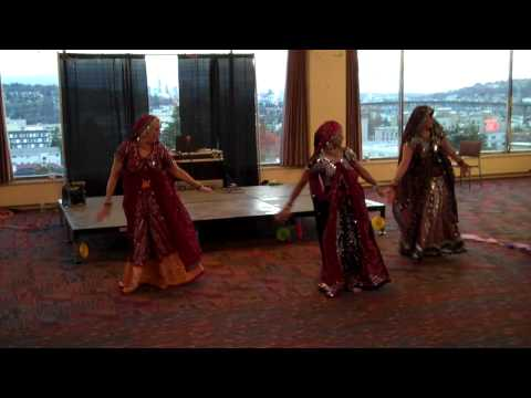 Rhythms Of India - Tere Mast Mast Do Nain And Sajanaji Vaari Vaari - Dance For Diabetes 2012-03-03 video