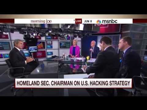 Mike Barnicle about Chinese-linked hacking of federal employee records (8 June 2015)