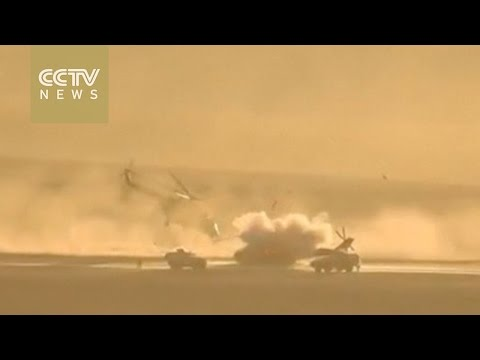 ISIL claims responsibility for Russian helicopter destruction in Syria thumbnail