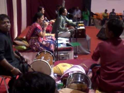 Great Navratri Party At Shiv Mandir (lisbon) With Sugam Sangeet Music Band (baroda, India) video