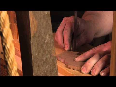 Traditional Woodworking Demonstration - Treadle Saw & Spring Pole Lathe
