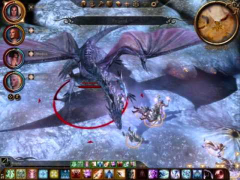 Dragon Age Origins Mod - 25 Man Raid on the High Dragon!