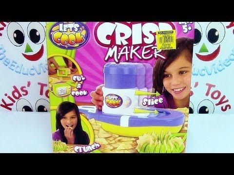 Let's Cook Crisp Maker Toy - Make Your Delicious Potato Crisps