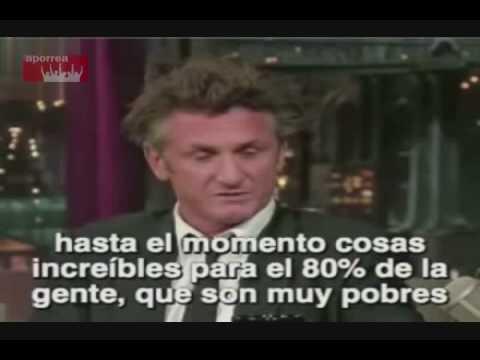 Sean Penn defiende al presidente Chávez en la televisión norteamericana