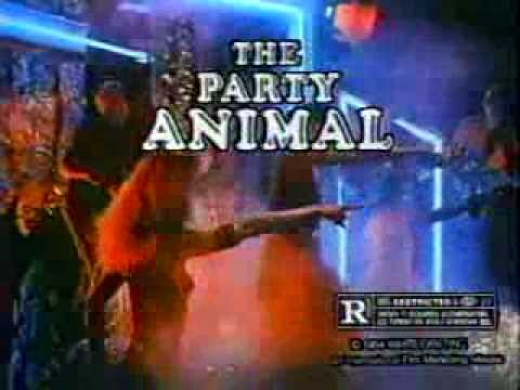 The Party Animal 1985 TV trailer