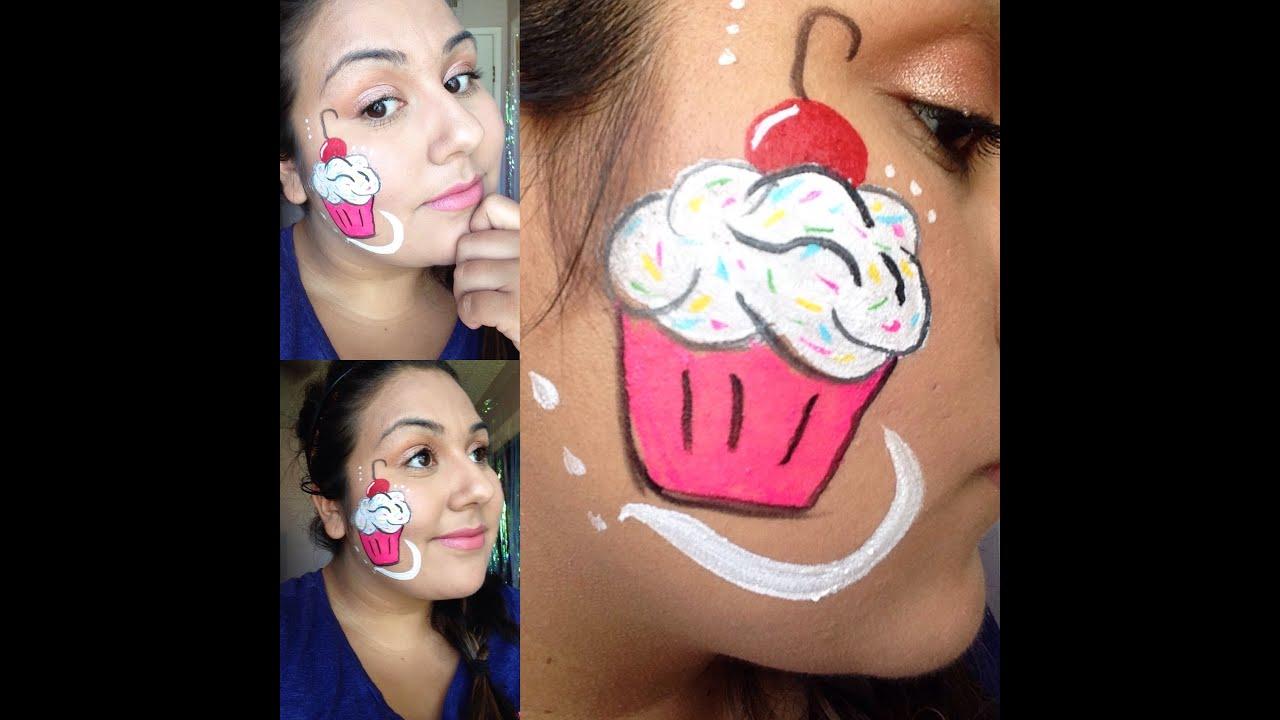 Cupcake Faces Cupcake Face Paint