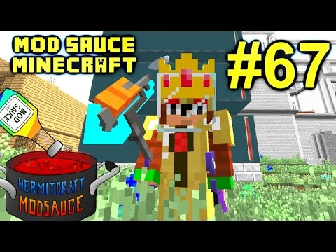 Minecraft Mod Sauce Ep. 67 - Auto Wither Boss Killer !!! ( HermitCraft Modded Minecraft )