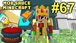 Minecraft Mod Sauce Ep. 67 - Auto Wither Boss Killer !!! ( HermitCraft Modded Minecraft )
