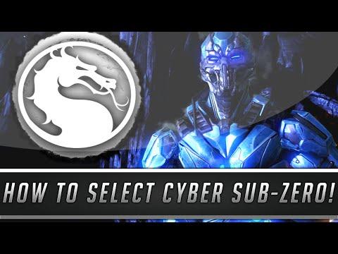 Mortal Kombat X: How To Select Cyber Sub-Zero & Original Gray Tri-Borg! (Kombat Pack 2 DLC)