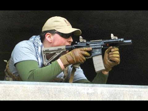 Airsoft War FPS Action At Copehill Down England 2013