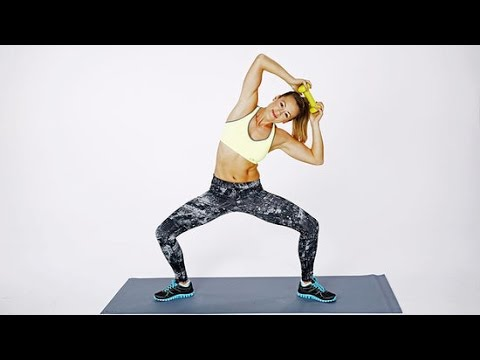 5-Minute Flat Belly Ab Workout | Class FitSugar