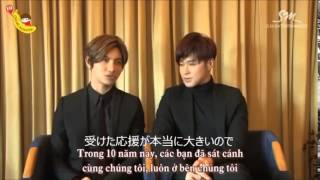 TVXQ Debut 10th Anniversary  Message 日本語