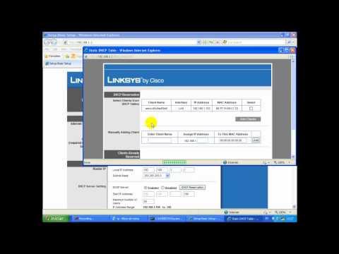 Configurando SECO -SDVR no roteador LinkSys