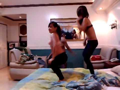 sexy dance pinay trep lng mhina ang music hehe