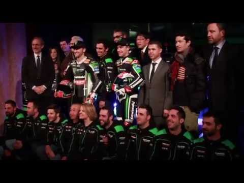 Presentación Kawasaki Racing Team SBK 2015