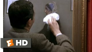 Bean (9/12) Movie CLIP - Staining Whistler's Mother (1997) HD