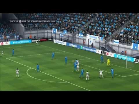 TSG 1899 Hoffenheim - VfL Wolfsburg 2-3 / Viertelfinale DFB Pokal 12.02.2014 / pes