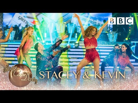 Stacey Dooley and Kevin Clifton Salsa to 'Ooh Aah (Just A Little Bit)' by Gina G - BBC Strictly 2018
