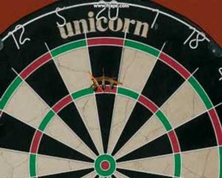 A movie I made with the game PDC World Championship darts. I played the leg in the historical game Barney Vs. Manley when Barney throws a nine dart finish.