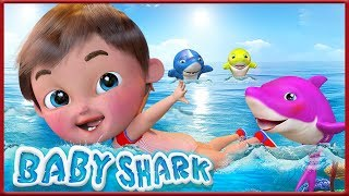 Baby Shark Dance |+ More Nursery Rhymes & Kids Songs | Songs For Kids | Banana Cartoons [HD]
