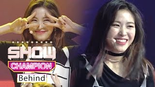 Who's the Ending-fairy? It's Ryu Jin from ITZY!!! [SHOW CHAMPION Behind Ep 125]