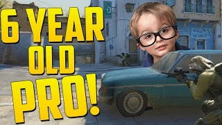 6 YEAR OLD PRO! - CS GO Funny Moments *important announcement video*