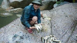 ĐI RỪNG MÙA ĐÔNG: Tập 4_Kéo lưới bắt cá suối bội thu