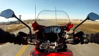 Ducati Multistrada 1100S GoPro Chesty Testy