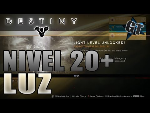 [Destiny] Cómo Subir de Nivel 20!? - (Guía, Trucos y Consejos)