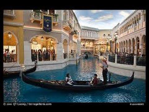 Venetian & Palazzo Hotel & Casino Las Vegas – Gondola Rides – BBC Interview & Review Roko