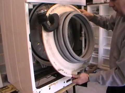 Beko washing machine WMA520W bearing failure Part1