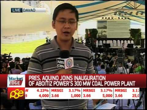 Aboitiz launches coal-fired plant in Davao