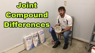 The Differences Between 20, 45 and 90 Minute Quick Set Joint Compound,