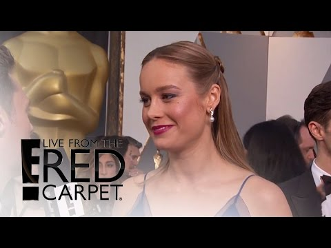 Brie Larson Dishes On Burger Surprise From Katy Perry | Live From The Red Carpet | E! News