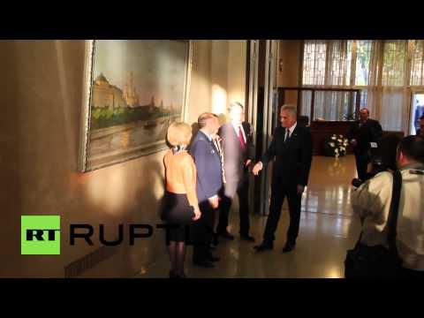 Serbia: Duma chairman Naryshkin commemorates WWI in Belgrade